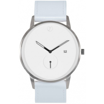 WHY WATCHES Modernist Model 3 - Silver / White