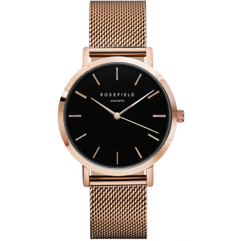 ROSEFIELD The Mercer Black - Rose Gold