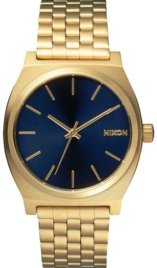 NIXON TIME TELLER ALL LIGHT GOLD COBALT + dárek zdarma Nixon
