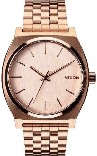 NIXON TIME TELLER ALL ROSE GOLD + dárek zdarma