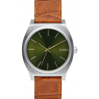NIXON TIME TELLER SADDLE GATOR