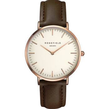 ROSEFIELD THE BOWERY ROSEGOLD WHITE / BROWN