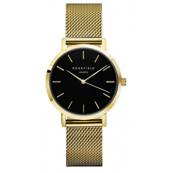 ROSEFIELD THE TRIBECA BLACK - GOLD / 33MM TBG-T60