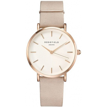 ROSEFIELD THE WEST VILLAGE SOFT PINK ROSE GOLD / 33MM