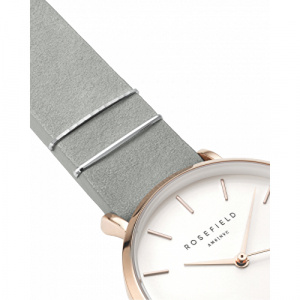 Hodinky ROSEFIELD THE WEST VILLAGE MINT GREY / ROSE GOLD 33 MM