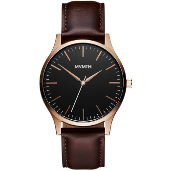 MVMT FORTY SERIES - 40 MM ROSE GOLD BROWN