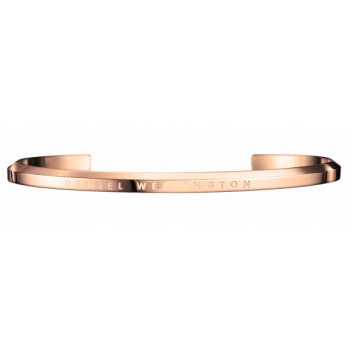 DANIEL WELLINGTON CLASSIC LARGE CUFF ROSE GOLD DW00400001