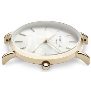 Hodinky ROSEFIELD THE UPPER EAST SIDE GOLD / WHITE PEARL 33 MM