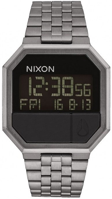 NIXON RE-RUN ALL GUNMETAL + dárek zdarma Nixon