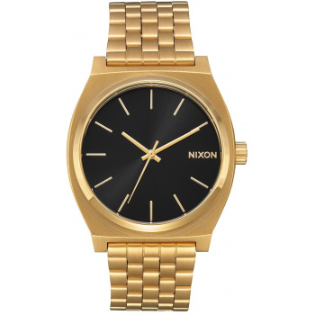 NIXON TIME TELLER ALL GOLD BLACK SUNRAY