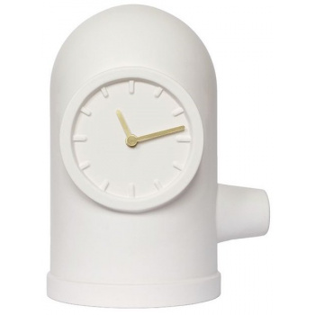 LEFF base table clock white