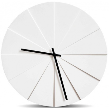 LEFF wall clock scope38 white