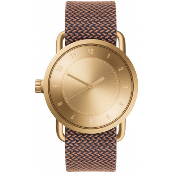 TID Watches No.1 Gold / Rust Twain Wristband