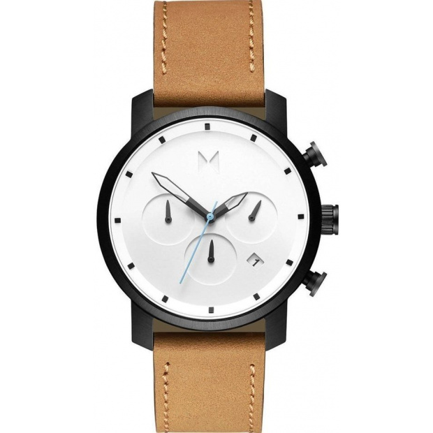 Hodinky MVMT  CHRONO SERIES - 40 MM WHITE BLACK TAN