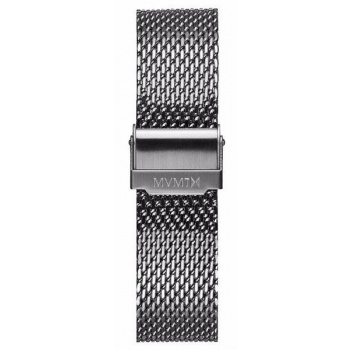 MVMT MENS 40 SERIES 20MM MESH STRAP SILVER