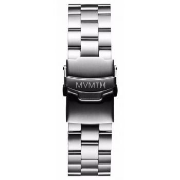 MVMT MENS MODERN SPORT SERIES 20MM STEEL BAND SILVER