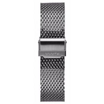 MVMT MENS CHRONO 40MM SERIES 20MM MESH BAND SILVER