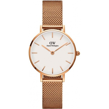 DANIEL WELLINGTON CLASSIC PETITE MELROSE ROSE GOLD 28MM
