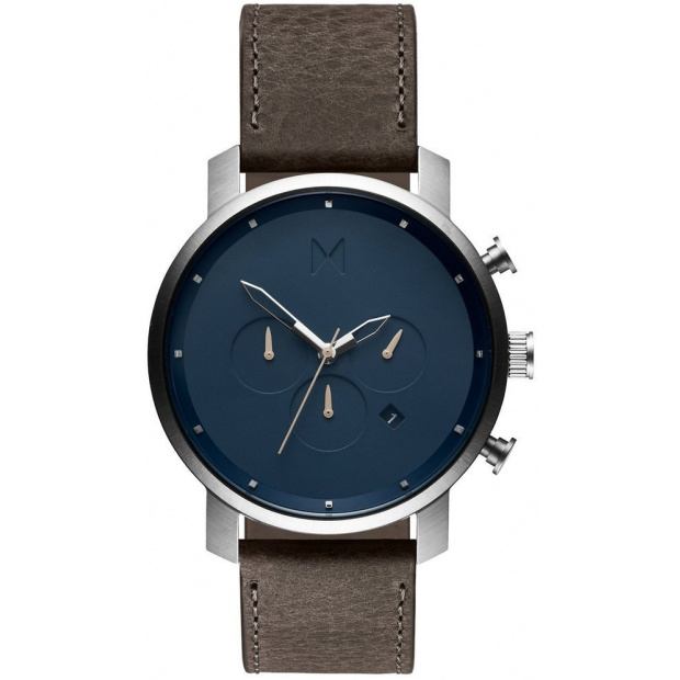 Hodinky MVMT CHRONO SERIES - 45 MM MATTE BLUE CEDAR