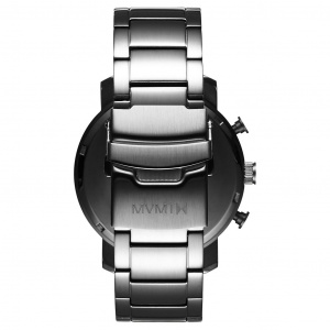 Hodinky MVMT CHRONO SERIES - 45 MM MIDNIGHT SILVER