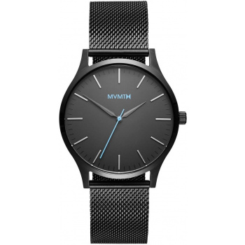 MVMT FORTY SERIES - 40 MM GUNMETAL MESH
