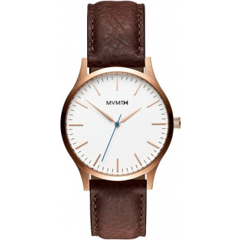 MVMT FORTY SERIES - 40 MM ROSE GOLD CHOCOLATE