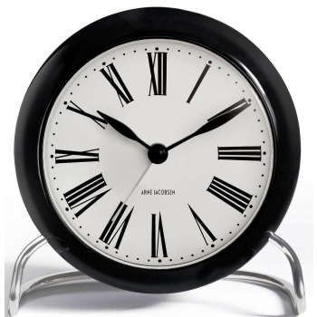ARNE JACOBSEN AJ TABLE CLOCK ROMAN W/ALARM
