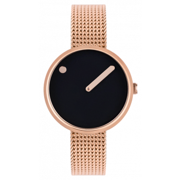 PICTO BLACK/POLISHED ROSE GOLD 43311-1112