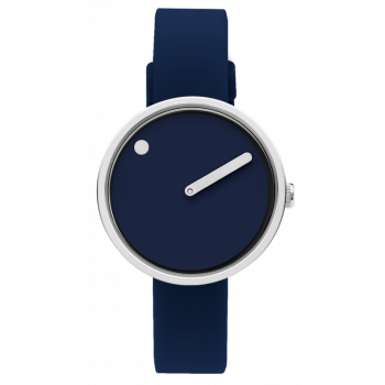 PICTO NAVY BLUE/POLISHED STEEL 43392-0512S