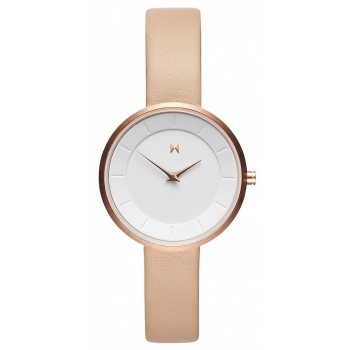 MVMT MOD WHITE/NUDE LEATHER N2