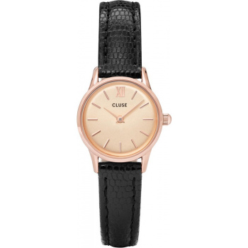 CLUSE LA VEDETTE ROSE GOLD CHAMPAGNE/BLACK LIZARD CL50028