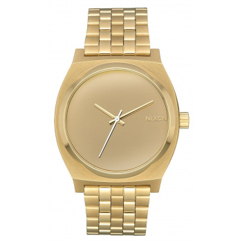 NIXON TIME TELLER LIGHT GOLD MIRRO