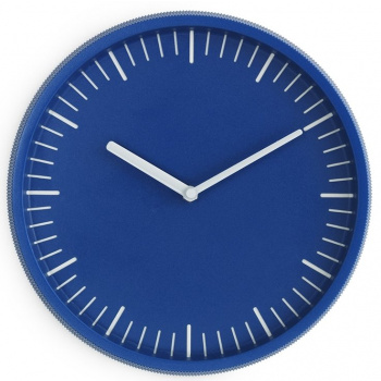 NORMANN COPENHAGEN DAY WALL CLOCK BLUE