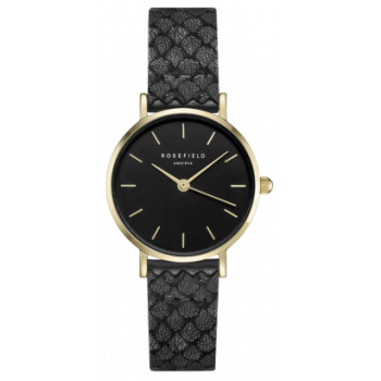 ROSEFIELD THE SMALL EDIT BLACK GOLD BLACK 26 MM