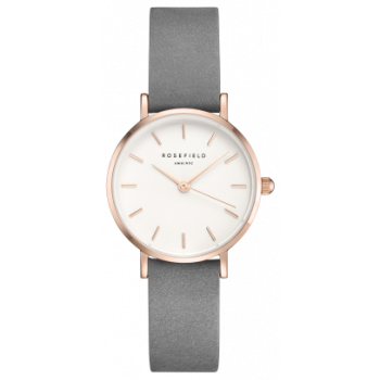 ROSEFIELD THE SMALL EDIT ELEPHANT GREY ROSE GOLD 26 MM