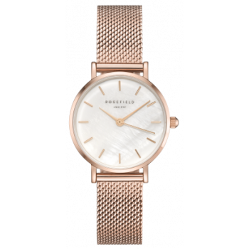 ROSEFIELD THE SMALL EDIT WHITE ROSE GOLD 26 MM