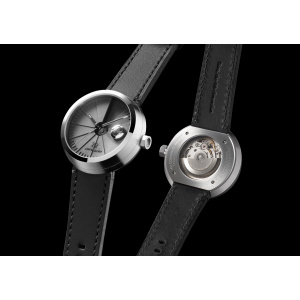 Hodinky 22 DESIGN STUDIO 4D Concrete Watch Automatic - Signature Edition Stainless Steel Look