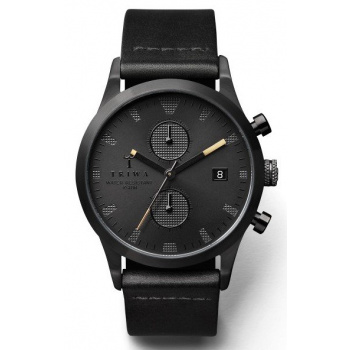TRIWA SORT OF BLACK CHRONO BLACK CHRONOGRAPH