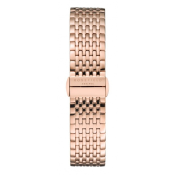 ROSEFIELD UPPER EAST SIDE ROSE GOLD STRAP ROSE GOLD / 33MM