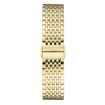 ROSEFIELD UPPER EAST SIDE GOLD STRAP GOLD / 33MM