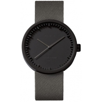 LEFF TUBE WATCH D42 / BLACK GREY CORDURA STRAP