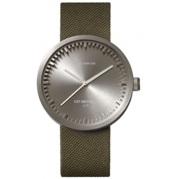 LEFF TUBE WATCH D42 / STEEL GREEN CORDURA STRAP