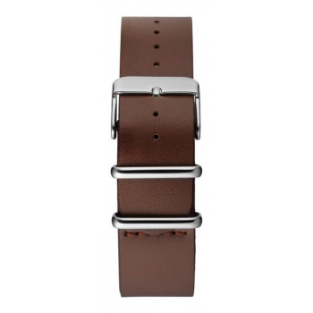 CHPO 14229GG-S Brown Leather Nato Strap - 20 mm