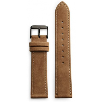 CHPO 14230JJ-S Brown Vegan Leather Strap - 20 mm