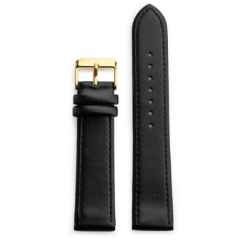 CHPO 14230NN-S Black Vegan Leather Strap - 20 mm