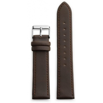 CHPO 14230OO-S Brown Vegan Leather Strap - 20 mm