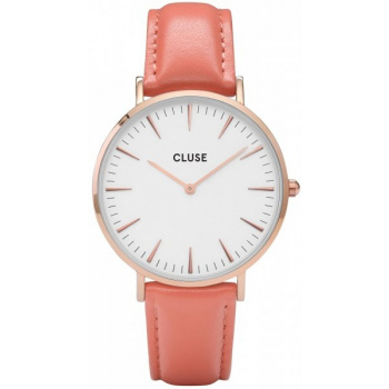 CLUSE LA BOHÈME ROSE GOLD WHITE/FLAMINGO CL18032