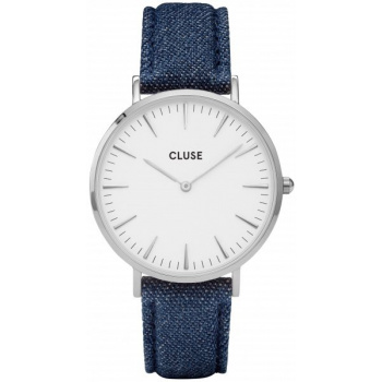CLUSE LA BOHÈME SILVER WHITE/BLUE DENIM CL18229