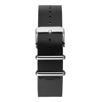 CHPO 14224AA-S Black Leather strap - 20 mm