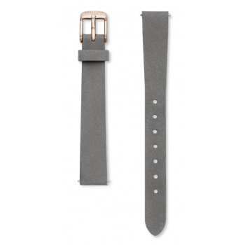 ROSEFIELD THE SMALL EDIT ELEPHANT GREY STRAP ROSE GOLD / 26MM
